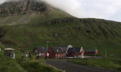 Evergreen, filmed in Sydradalur, Faroe Islands.